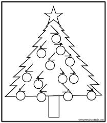 100 plain christmas trees christmas coloring