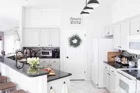 Rustic Farmhouse Kitchens - rustic gray farmhouse kitchen reveal t u0026h kitchen makeover