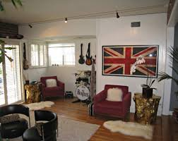 music themed bedroom house living room design
