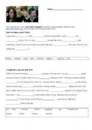 esl worksheets for adults cyber bullying