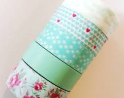 Decorative Scotch Tape Washi Tape Japanese Masking Tape Decorative Tapes By Prettytape