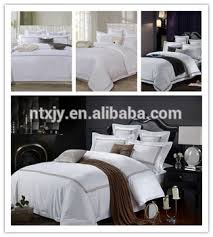 Luxury White Bed Linen - white sateen luxury hotel bed linen flat sheet embroidery hotel