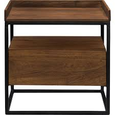funky side tables moe u0027s home collection lx 1025 03 vancouver side table in solid