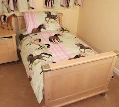 horse pony horses ponies single duvet set duvet cover and pillow case