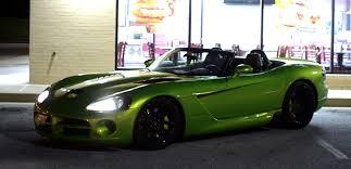 Dodge Viper Green - haris u0027s venom green viper pancakesx