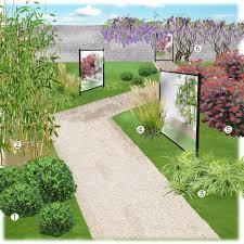 miroir jardin d ulysse mobilier de jardin truffaut meilleures idées créatives pour la