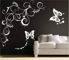Pleasing Wall Stickers For Bedrooms Interior Design Cosy Diy Fish - Wall art designer