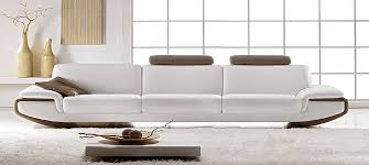 Italian Leather Sofa Nirvana By Calia Maddalena - 4 seat leather sofa
