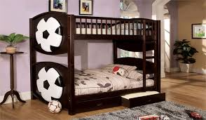 2 Bunk Beds Sport Theme Bunk Bed With 2 Drawers Olympic V