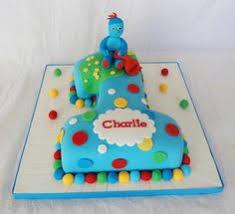in the night garden cake chocolate sponge with vanilla
