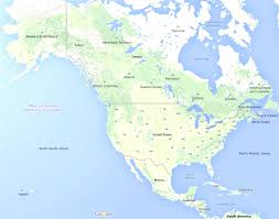 Map Of Central America And South America North America Map Geography Of North America Map Of North