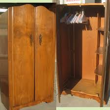 Armoire With Hanging Space Furniture Keep Your Space Elegant Using Clothing Armoire