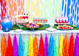 Australian Themed Decorations - interior design top rainbow themed birthday party decorations