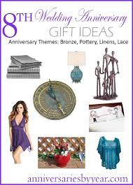 8th anniversary gift ideas for 8th year anniversary 8th anniversary gifts