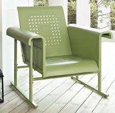 amazon com crosley furniture veranda metal outdoor single glider