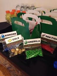 minecraft party favors diy minecraft party birthdays minecraft party ideas and birthday