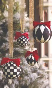 black and white christmas tree ornaments christmas lights decoration