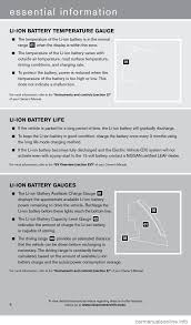 nissan altima 2005 ac recharge nissan leaf 2013 1 g quick reference guide
