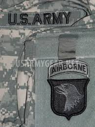 Army Uniform Flag Patch Us Army Military Acu Grey Black Velcro Blood Type Patches A B