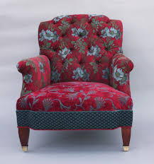 Upholstered Club Chairs by Chelsea Chair In Red Wine By Mary Lynn O U0027shea Upholstered Chair