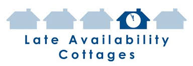 late availability cottages last minute self catering breaks