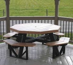 Free Octagon Picnic Table Plans And Drawings by Enchanting Octagon Picnic Tables Plans And Ana White Octagon