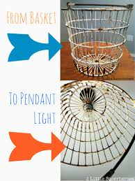 Diy Light Fixtures by Diy Egg Basket Light I U0027ve Been Wondering How To Do This Quite