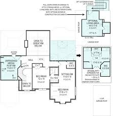 lily rose french country house plan small luxury house plans lily rose house plan lily rose house plan second floor plan