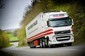 volvo truck tractor new volvo trucks delivered to peter green chilled autoevolution