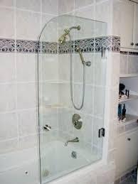 Shower Door Panel Accurate Glass Mirror Inc Spray Panel Shower Door Image