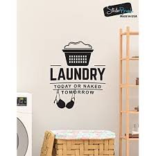 Laundry Room Hours - wall decal vinyl lettering self serve laundry open 24 hours
