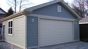 garages reverse gable flat roof deck custom architecture plans