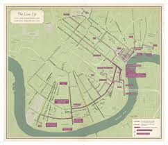 Map New Orleans French Quarter by Unfathomable City U2013 The New Orleans Tribune