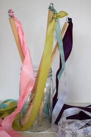 easy ribbon wands pa country crafts