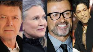 rock artist who died 2016 celebrity deaths in 2016 famous faces gone too soon from george