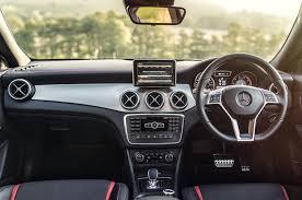 mercedes cla45 amg mercedes amg 45 review 2017 autocar