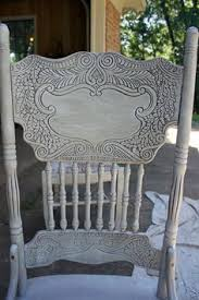 Shabby Chic Press Back Chairs Chalk Paint Distress And Antique - Painting dining room chairs