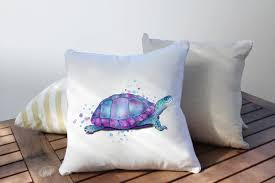 outdoor patio cushions sunbrella outdoor pillow turtle