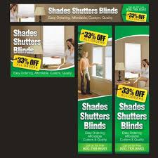 Shades Shutters Blinds Coupon Code Banner Ad For Shades Shutters Blinds Banner Ad Contest