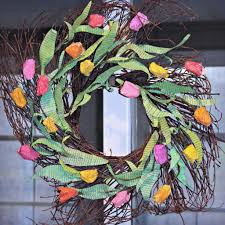 How To Make A Spring Wreath by How To Make This Vibrant Unique Spring Wreath From Book Pages