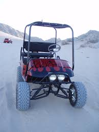 2001 ezgo custom golfcart with 23hp briggs motor yamaha rhino