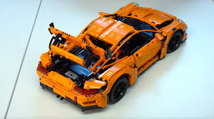 orange porsche 911 gt3 rs want a porsche 911 gt3 rs for 300 buy this lego masterpiece