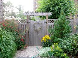 Pictures Of Pergolas In Gardens by Entrance To Garden Gates With An Entrance Pergola And Gate The