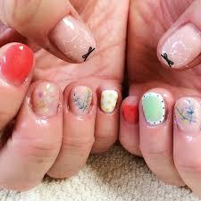 credit to mirei kim at salon lulu bellevue wa beauty nail