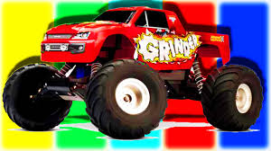 bigfoot presents meteor and the mighty monster trucks monster cars monster trucks for children monster mashines