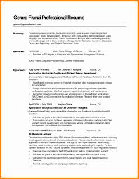 resume summary statements about experiences sle resume summary statement unique how to write a resume