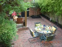 garden backyard garden and patio lighting ideas with bamboo