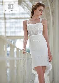 knee length wedding dress 2015 lace sheath wedding dresses spaghetti knee length