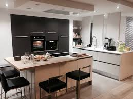 cuisine montauban cuisines équipées cuisines aménagées cuisine moderne design bois