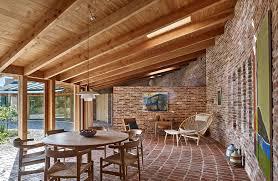 jan henrik jansen designs unconventional round house in denmark